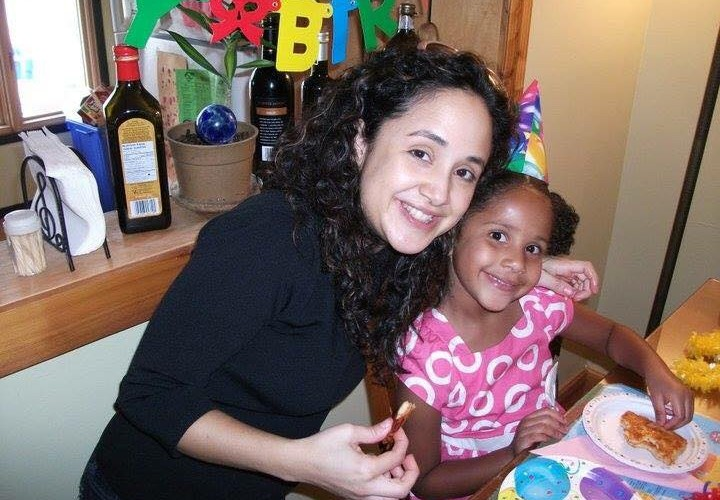 Nelba Marquez Greene and her daughter Ana Grace